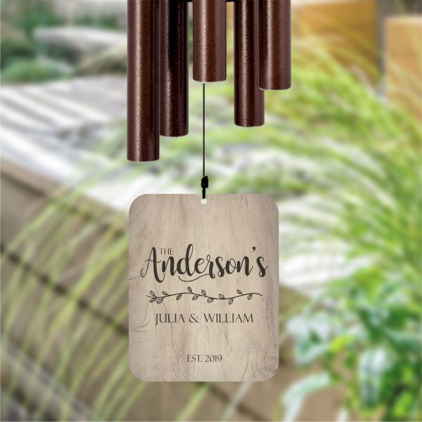 Personalized Wind Chime for Family