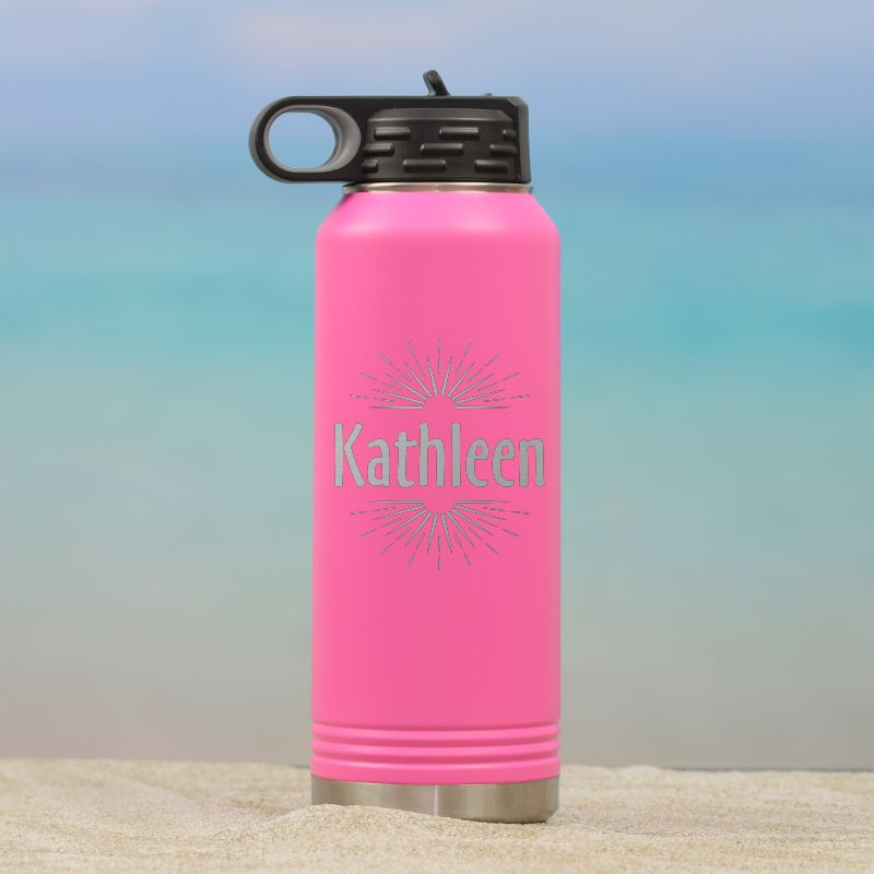 Ray of Sunshine Personalized Waterbottle for Her