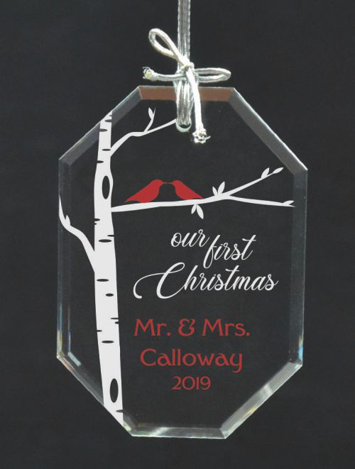 Couple's First Christmas Ornament