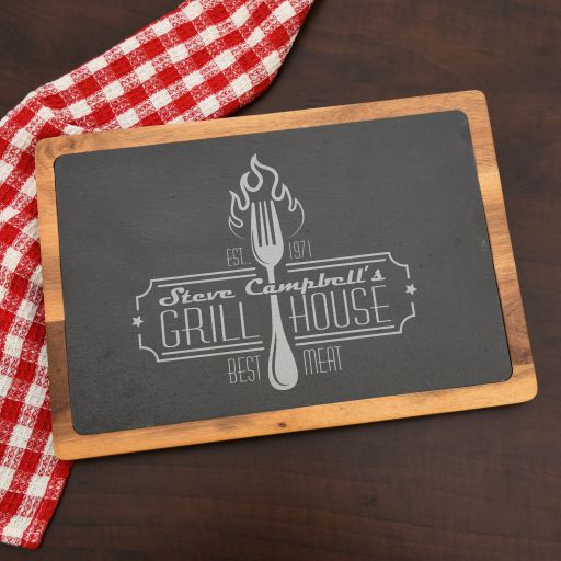 Grillhouse Personalized Cutting Board for Him