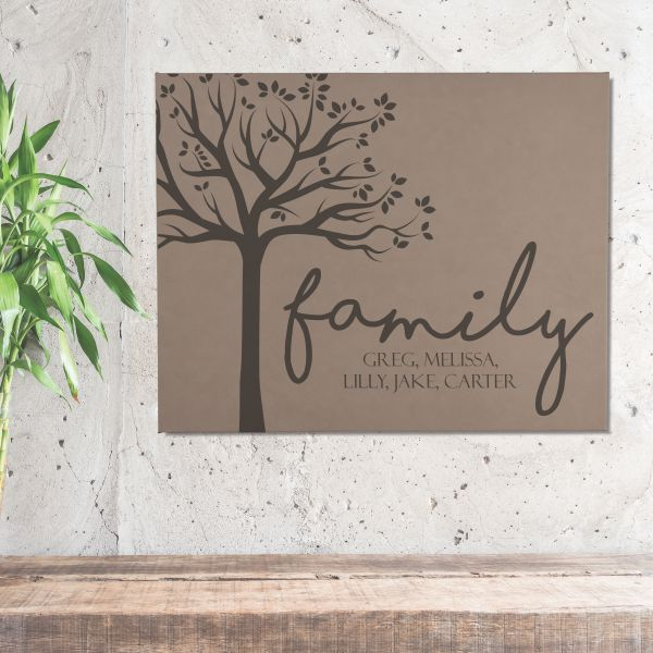 Our Family Personalized Wall Art